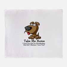 Take Me Home Throw Blanket