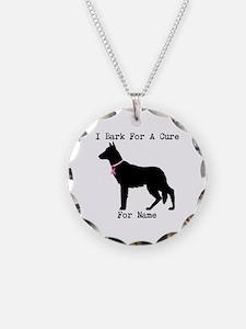 German Shepherd Personalizable I Bark For A Cure N
