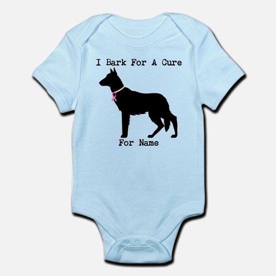German Shepherd Personalizable I Bark For A Cure I