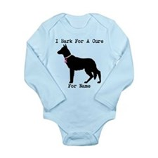 German Shepherd Personalizable I Bark For A Cure L