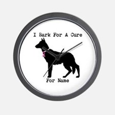 German Shepherd Personalizable I Bark For A Cure W