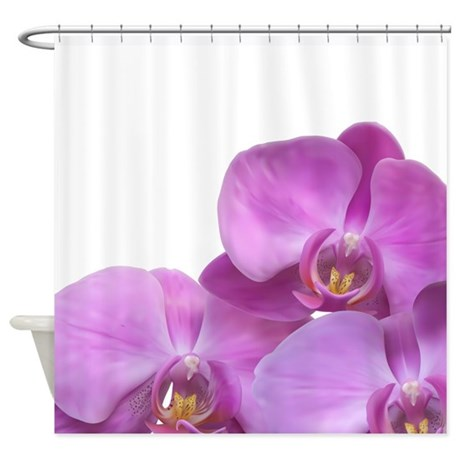 Purple Orchid Shower Curtain 2 By Zoeticliving