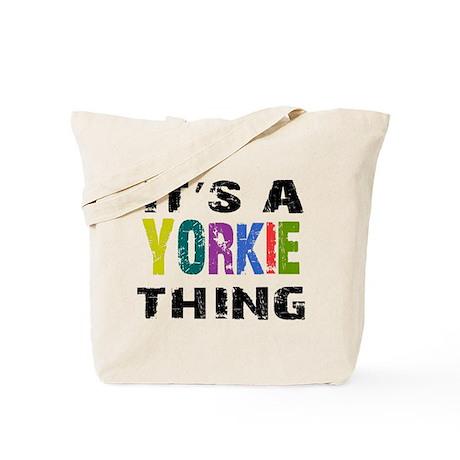 Yorkie THING Tote Bag