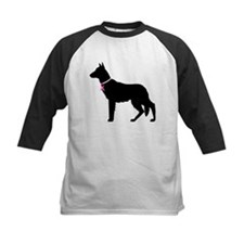 German Shepherd Breast Cancer Support Tee