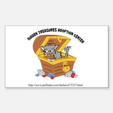 Hidden Treasures Sticker 3x5 (Rectangle 10 pk)
