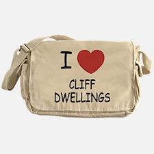 i heart cliff dwellings Messenger Bag