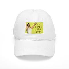 Vintage, retro new dad Baseball Cap