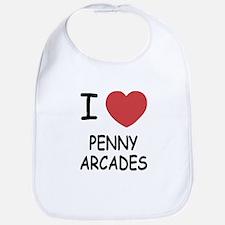 i heart penny arcades Bib
