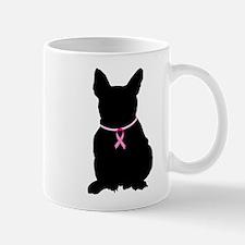 French Bulldog Breast Cancer Support Mug