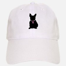 French Bulldog Breast Cancer Support Baseball Baseball Cap