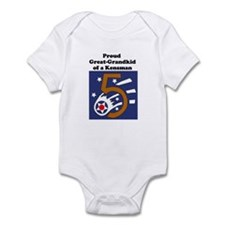 Funny Fifth army Infant Bodysuit