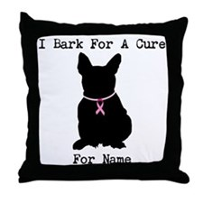 French Bulldog Personalizable I Bark For A Cure Th