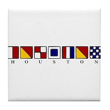 Nautical Houston Tile Coaster