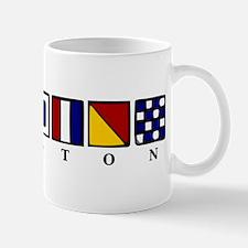 Nautical Houston Mug