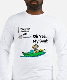 My Boat Long Sleeve T-Shirt