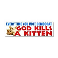 """""""Every Time You Vote Democrat"""" Car Magne"""