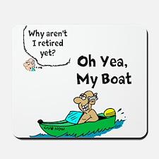 My Boat Mousepad