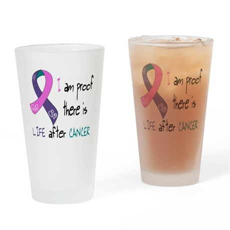 tri I life.png Drinking Glass