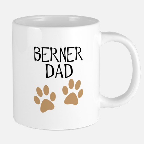 Big Paws Berner Dad Mugs