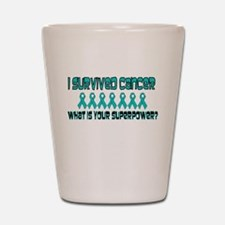 Teal Superpower.png Shot Glass