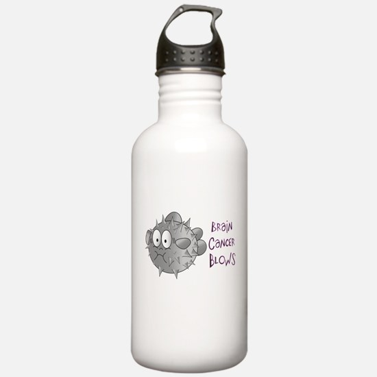 Brain Cancer Blows.png Water Bottle