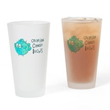 Ovarian Cancer Blows.png Drinking Glass