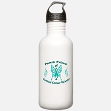 Proud Friend Cervical Warrior.png Water Bottle