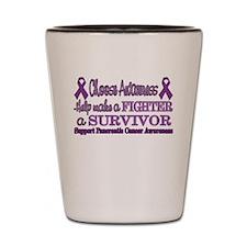 Pancreatic Survivor Fighter.png Shot Glass