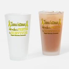 Sarcoma Fighter Survivor.png Drinking Glass