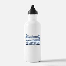 Prostate Fighter Survivor.png Sports Water Bottle