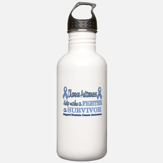 Prostate Fighter Survivor.png Sports Water Bottle