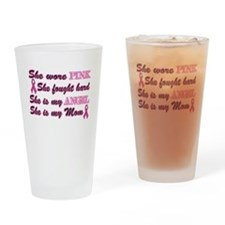 She is Mom breast angel.png Drinking Glass