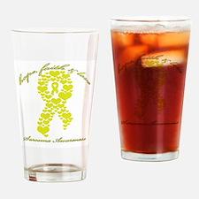 Sarcoma Awareness Drinking Glass