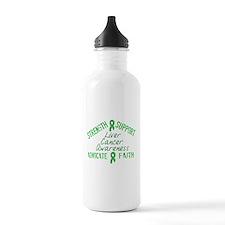 Liver Cancer Awareness Water Bottle