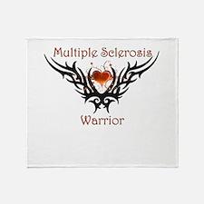 MS Warrior.png Throw Blanket