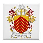 Van Egmond Coat of Arms Tile Coaster