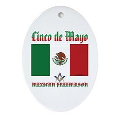 Cinco De Mayo Ornament (Oval)