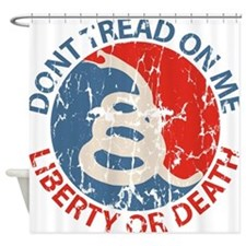 Don't Tread on Me Shower Curtain
