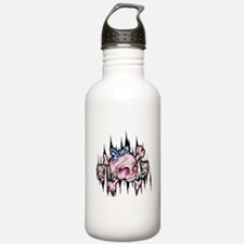 Cute Blonde girl Water Bottle