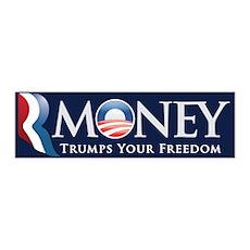 RMoney Trumps Freedom 42x14 Wall Peel
