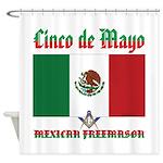 Cinco De Mayo Mason Shower Curtain