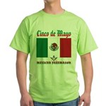 Cinco De Mayo Mason Green T-Shirt