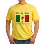 Cinco De Mayo Mason Yellow T-Shirt