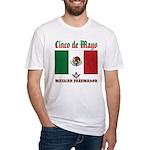 Cinco De Mayo Mason Fitted T-Shirt