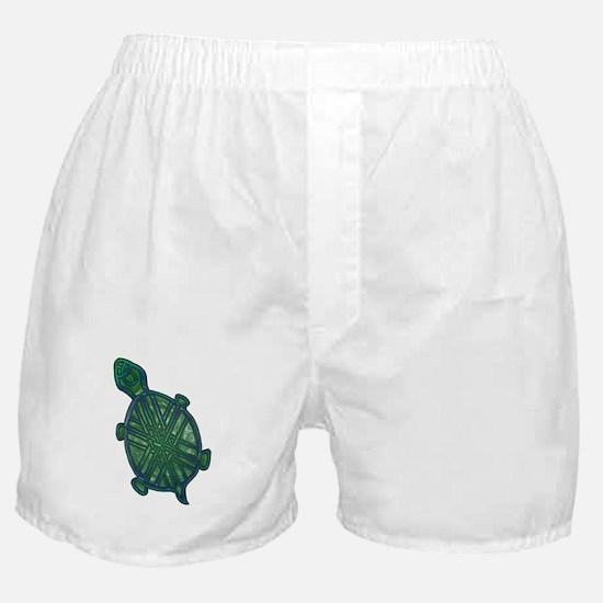Celtic Knotwork Turtle Boxer Shorts