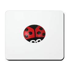 Ladybug Tshirt Design Mousepad