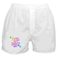 HappyIsTheHomeBlessed-PAWS.png Boxer Shorts