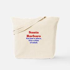 Santa Barbara State Tote Bag