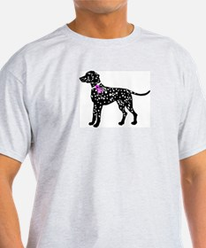 Dalmation Breast Cancer Suppo T-Shirt