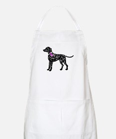 Dalmatian Breast Cancer Support Apron
